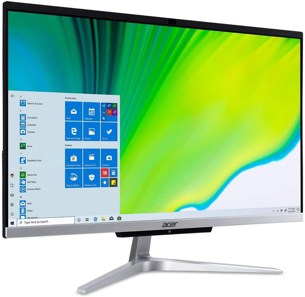 "Acer 23.8"" AIO Intel Core i5-1035G1 1GHz 12GB Ram 1TB HDD 256GB SSD Windows 10 Home   C24-963-UC11   Scratch & Dent"