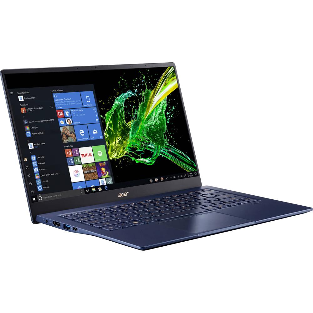 "Acer Swift 5 - 14"" Laptop Intel Core i7-1065G7 1.3GHz 8GB Ram 512GB SSD Windows 10 Home   SF514-54T-76PY   Scratch & Dent"