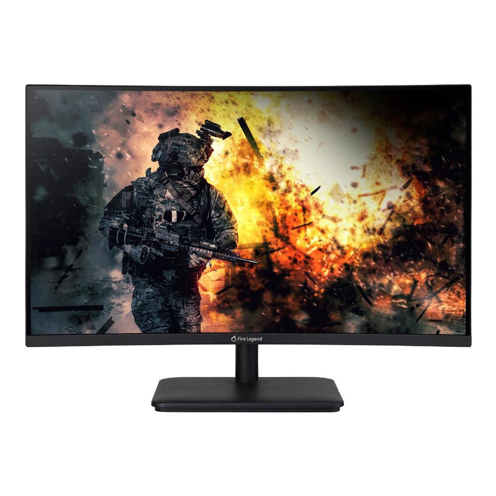 "Acer AOPEN HC5 27"" Curved Monitor FullHD 2560x1440 VA 165Hz 16:9 1ms 250Nit   27HC5UR Sbmiiphx"