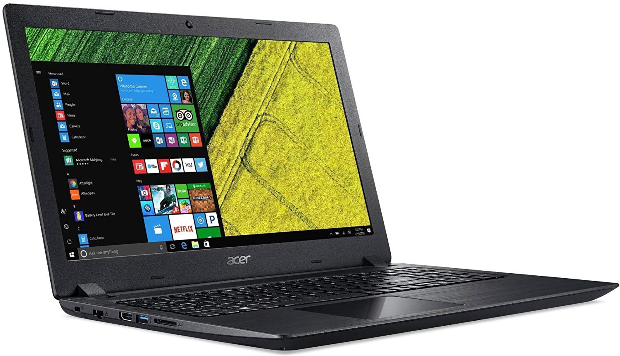Acer Aspire 3 15 6 Laptop Amd A Series A6 9220e 1 60 Ghz 8gb Ram 1tb Hdd Win10h