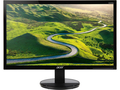 """Acer 23.6"""" Monitor Full HD 1920x1080 5ms 250 Nit Vertical Alignment   K242HQL   Scratch & Dent"""
