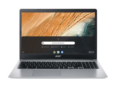 "Acer 315 - 15.6"" Chromebook Intel Celeron N4020 1.1GHz 4GB RAM 64GB Flash Chrome | CB315-3HT-C5D3"