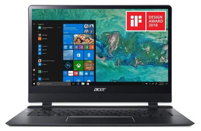 "Acer Swift 7 - 14"" Laptop Intel Core i7-7Y75 1.30GHz 8GB Ram 256GB SSD Windows 10 Home | SF714-51T-M9H0"