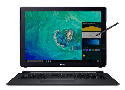 "Acer Switch 7 - 13.5"" Laptop Intel i7-8550U 1.80GHz - NVIDIA GeForce MX150 2GB - 16GB Ram 512GB SSD Windows 10 Pro 