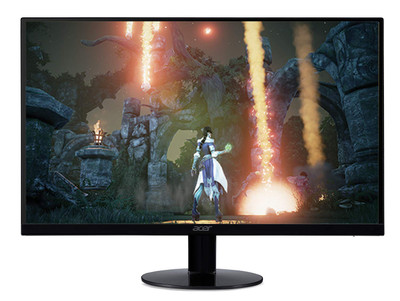 "Acer SB0 23"" Widescreen Monitor Display Full HD 1920 x 1080 1 ms 75 Hz IPS  
