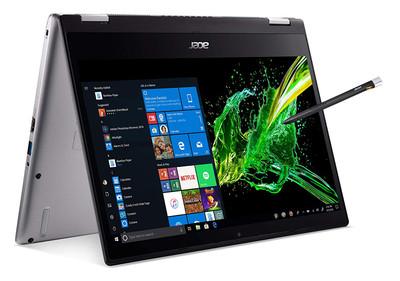 "Acer Spin 3 - 14"" Laptop Intel Core i7-8565U 1.80 GHz 16GB Ram 512GB SSD Windows 10 Home   SP314-53N-77AJ   Scratch & Dent"