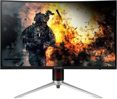 "AOPEN 27HC2R - 27"" Curved Gaming Monitor Full HD 1920x1080 16:9 4ms AMD FreeSync 