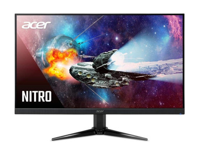 "Acer Nitro QG1 - 21.5"" Widescreen Monitor AMD FreeSync Full HD 1920x1080 75Hz 16:9 1ms VRB 250Nit 