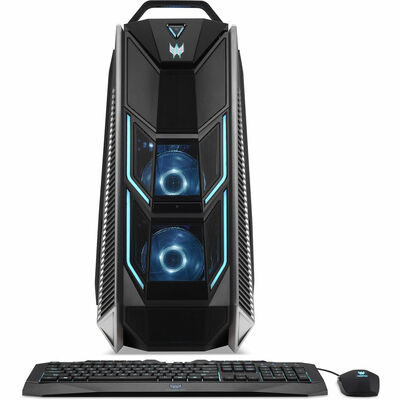 Acer Predator Orion 9000 PC Intel Core i7-8700K 3.7GHz 32GB Ram 2TB HDD + 256GB SSD Windows 10 Home | PO9-600-8700K2080Ti | Scratch & Dent