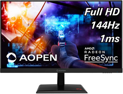 "AOPEN 25MH1Q - 25"" Monitor Full HD 1920x1080 144Hz 16:9 TN 1ms 250Nit 