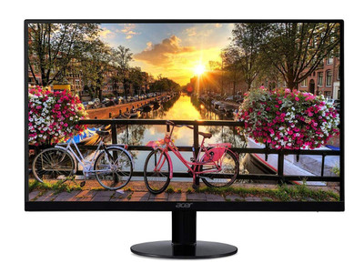 "Acer SA0 - 27"" Widescreen Monitor Full HD 1920x1080 75Hz IPS 16:9 1ms VRB 250Nit 