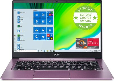 "Acer Swift 3 - 14"" Laptop AMD Ryzen 7 4700U 2GHz 16GB Ram 512GB SSD Windows 10 Home | SF314-42-R3U5"