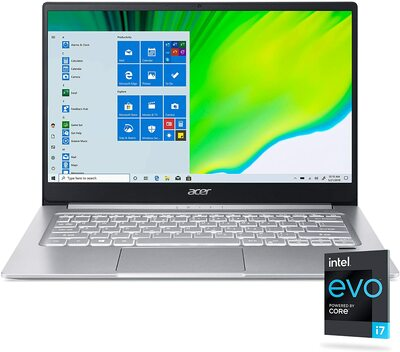 "Acer Swift 3 14"" Notebook Intel i7-1165G7 2.8GHz 16GB RAM 512 GB SSD Windows 10 Home | SF314-59-70VK"