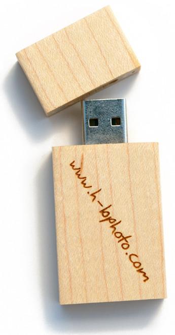 USB Wood Drives 10/pak