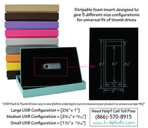 Universal USB Box-25/pak