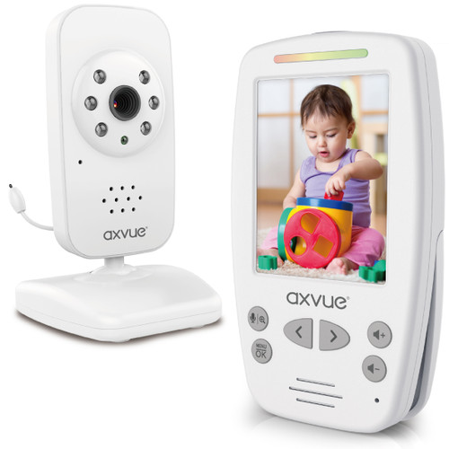 Video Baby Monitor with Large Slim-Designed Handheld