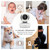 """Video Baby Monitor 1080P 5.5"""" Full HD IPS Screen and Remote-Controlled Cameras"""