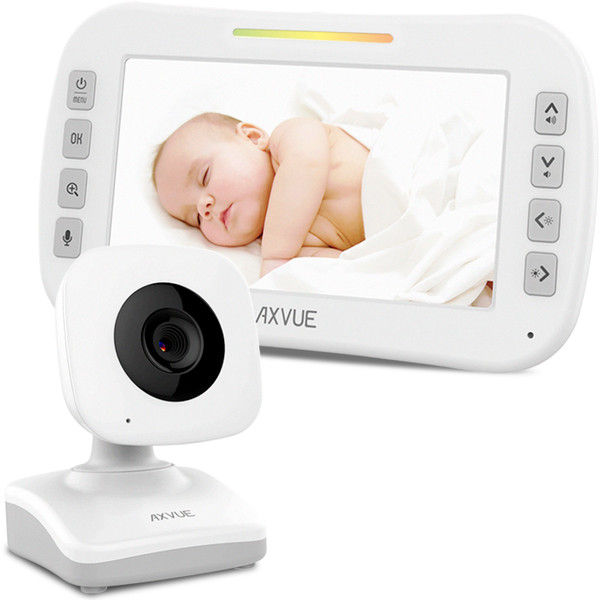 "Video Baby Monitor with 4.3"" Screen and Day-Night Camera"