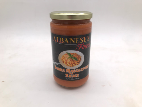Albanese Vodka Mascarpone Sauce 24 oz.