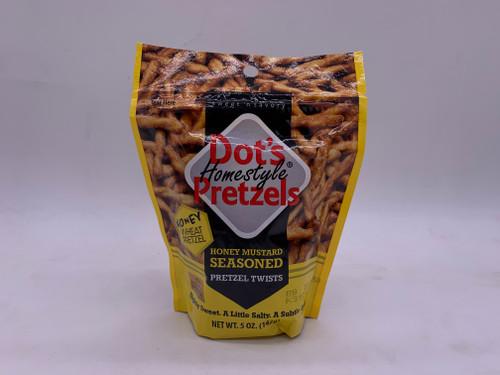 Dots Honey Mustard Pretzels 5oz.
