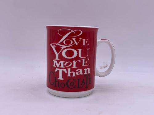 Love You More Than Chocolate Mug