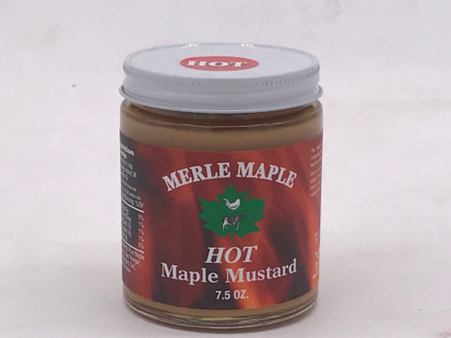 7.5 oz. Jar Maple Mustard Hot