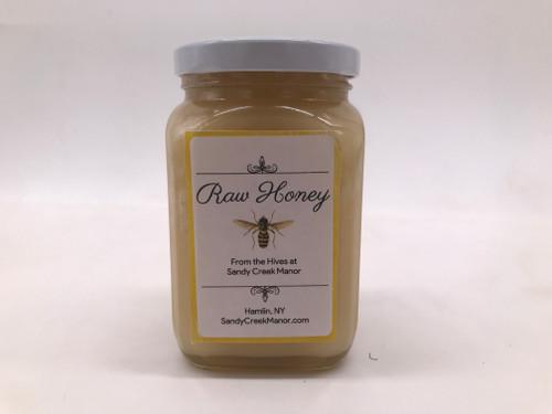 1lb Raw Honey Sandy Creek Manor