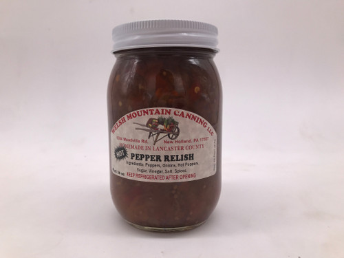 Hot Pepper Relish 16 oz