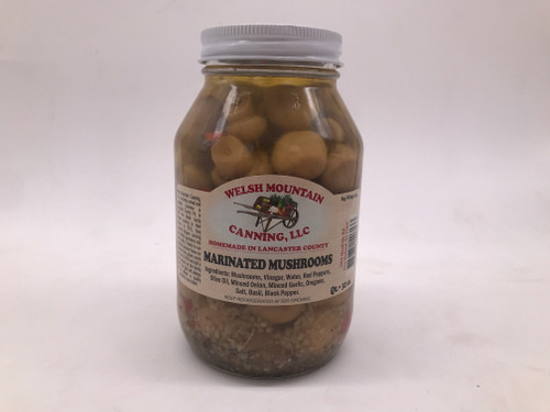 Marinated Mushrooms 32 oz