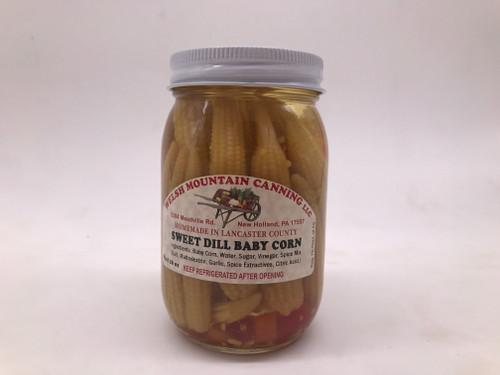 Sweet Baby Dill Corn 16 oz