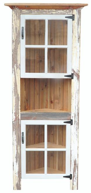 Corner Cupboard W/2 windows