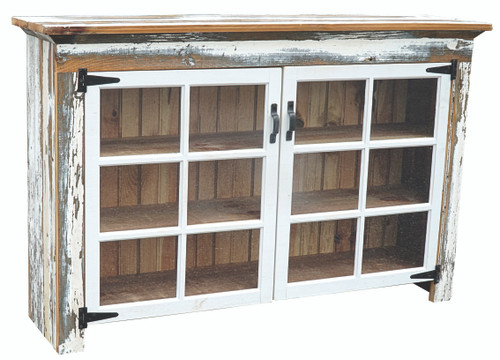 Cabinet w/2 - 6 lite windows