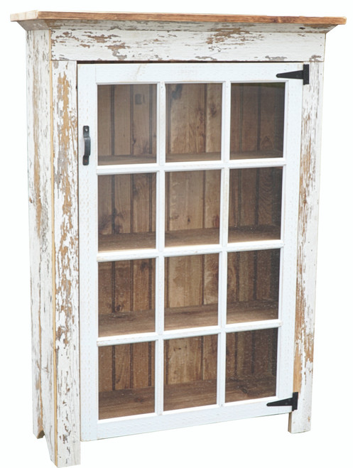 Cabinet w/12 lite windows