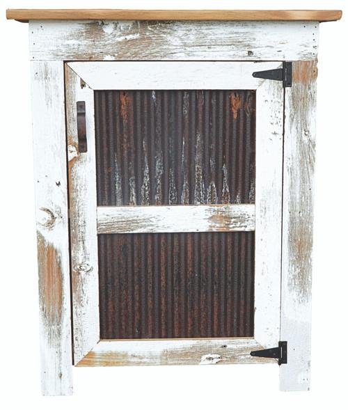 Cabinet w/tin door