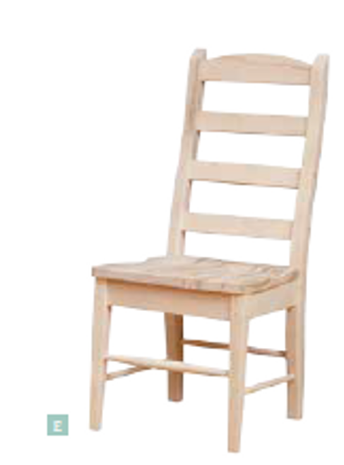 Country Ladderback Side Chair