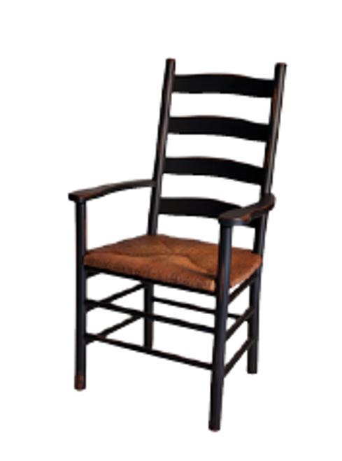 Royal Ladderback Arm Chair