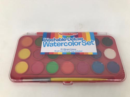 Deluxe Watercolor Paint Set (21 colors)