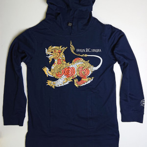 Origin BC Singha | Navy Hooded  L/S