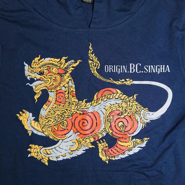 Origin BC Singha   Navy Hooded  L/S