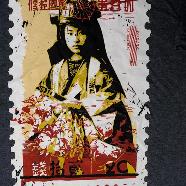 Warrior Stamp   T-Shirt