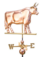 Large Bull Weathervane