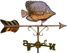 Small Angelfish Weathervane