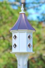 "14""W x 36""H - Octagon Dovecote Birdhouse 1"