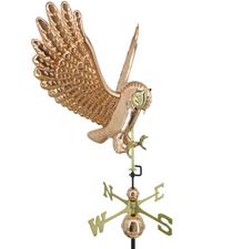 Flying Owl Weathervane 1