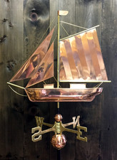 Sloop Weathervane 1
