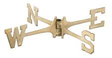 Brass Weathervane Directionals