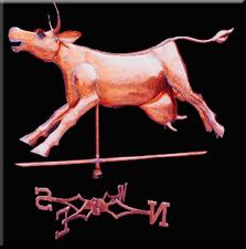 Happy Cow Weathervane