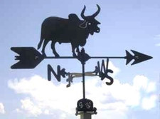 Brahma Bull Weathervane