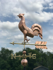 Full Bodied Rooster Weathervane