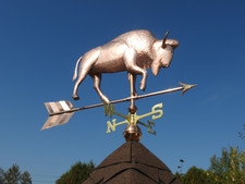 Large Buffalo Weathervane 2